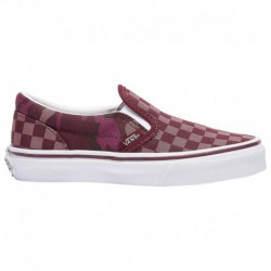 Vans Classic Slip On Boys Vans Classic Slip On - Boys' Preschool Port Royal/Camo | Tonal Checkerboard