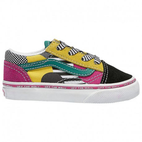Vans Old Skool Multi Vans Old Skool - Boys' Toddler Multi/Multi/white | DISARRAY