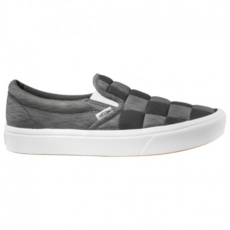 Comfy Slip On Shoes Vans Slip-On Comfy Cush - Men's Black/Gray | Autism Awareness