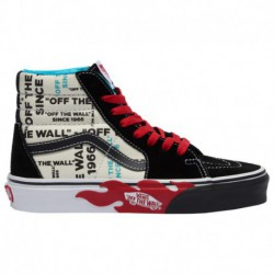 vans off the wall australia online shop vans off the wall outlet vans sk8 hi boys grade school multi off the wall flame