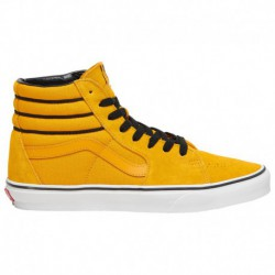 vans sk8 hi black yellow vans sk8 hi yellow black vans sk8 hi men s yellow black sport stripe
