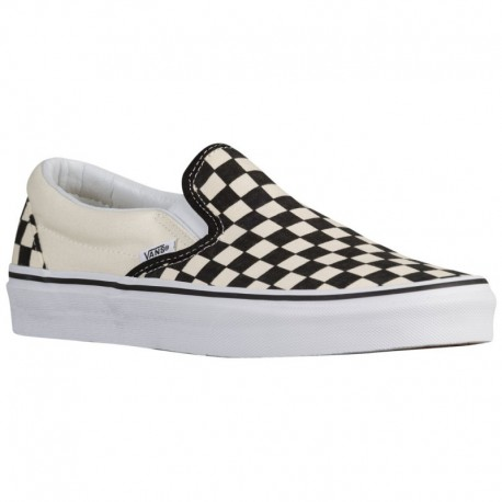 Vans Classic Slip On True White Vans Classic Slip On - Boys' Grade School Black/True White