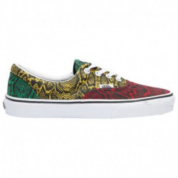 Vans Era Rasta Black Vans Era - Women's Rasta/True White/Yellow | Multi Python