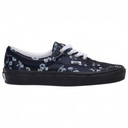 Women's Vans Era Shoes Vans Era - Women's Blue/Black | Floral