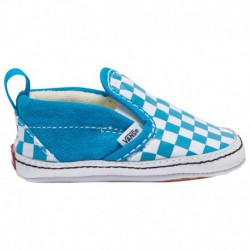 vans classic slip on sea fog vans classic slip on checkerboard true white vans classic slip on boys infant carribbean sea true