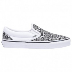 womens white vans classic slip on vans classic slip on white shoes vans classic slip on women s white true white python
