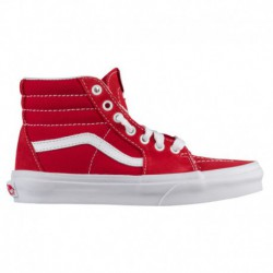 Mono Canvas Sk8 Hi Red Vans Sk8-Hi - Boys' Preschool Racing Red/true White | Varsity Canvas