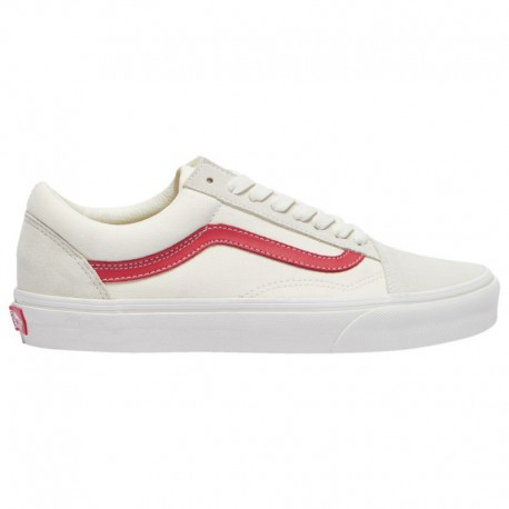 Vans Old Skool Vintage White Red Vans Old Skool - Men's White/red | Vintage Stripe