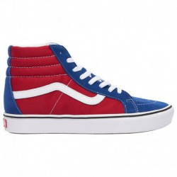 vans sk8 hi red white blue vans sk8 hi red blue vans sk8 hi men s blue red white comfy cush