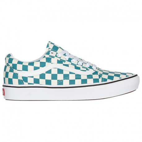 Where Can I Buy Vans Cheap Online Vans Comfycush Old Skool - Men's Green/True White