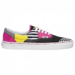 vans era checkerboard multi vans era patchwork multi vans era men s black multi