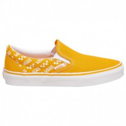 white slip on vans womens cheap white slip on vans cheap womens vans classic slip on boys grade school yellow white repeat logo