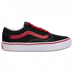 Vans Comfycush Old Skool Green Vans Comfycush Old Skool - Boys' Preschool Black/Red | Pop
