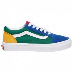 vans old skool yellow green blue vans old skool blue yellow green vans old skool boys preschool blue green yellow