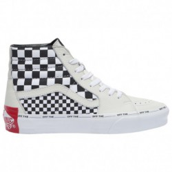 vans sk8 hi black white checker vans sk8 hi off white vans sk8 hi men s black white checker off the