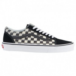 Blur Check Vans Old Skool Vans Old Skool - Men's Black/White | Blur Check
