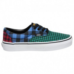 primary block era vans vans primary block era vans era primary boys preschool multi plaid what the buffalo plaid