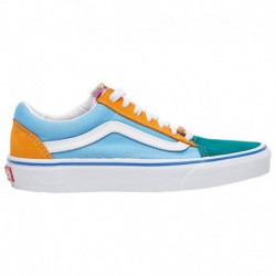vans old skool shoes multi bright vans old skool marshmallow multi vans old skool boys grade school multi bright multi colorblo