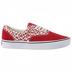 Where Can I Buy Cheap Vans Shoes Online Vans Comfycush Era - Men's Red/White | 45-20440-2-04