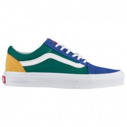 vans old skool boys grade school yacht club vans old skool blue green yellow yacht club vans old skool boys grade school blue g
