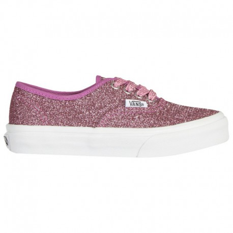 Vans Authentic Mono Pink Vans Authentic - Girls' Grade School Pink/White | 65-79740 0 4