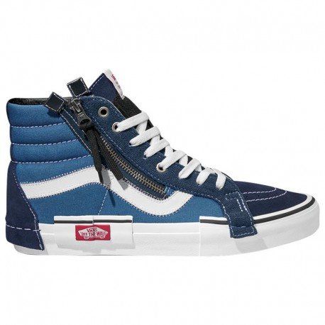 Vans Men's Sk8 Hi Shoes Vans Sk8-Hi - Men's Navy/White | 45-20117-6-04