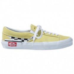 Vans Slip On Shoes Yellow Vans Slip On - Women's Yellow/White | 55-52442 0 2