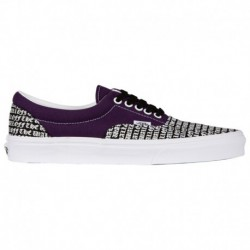 vans era purple and black vans era 59 purple vans era men s purple black 45 21131 6 04