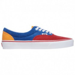 vans era red yellow blue vans era red blue yellow vans era boys grade school red blue yellow corduroy