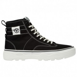 Vans Sentry Sneaker Boot Vans Sentry - Men's Black/White | 45-20133-3-04