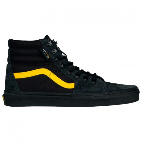 Vans Sk8 Hi Black And Yellow Vans Sk8 Hi - Men's Black/Yellow | 45-20785 0 4
