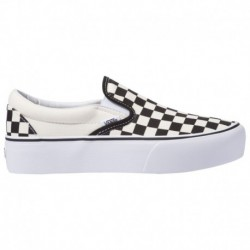 Vans Platform Slip On Checkerboard Vans Slip-On Platform - Women's Checkerboard | 55-50148-5-02