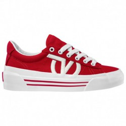 Vans Sid Ni White Vans Sid Ni - Women's Red/White | 55-50183-2-02