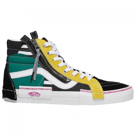 Where Can U Buy Cheap Vans Vans Sk8 Hi - Boys' Grade School Black/Multi | 65-75506-9-04
