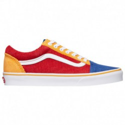 Vans Old Skool Blue And Orange Vans Old Skool - Men's Red/Blue/Orange | 45-20141-6-04