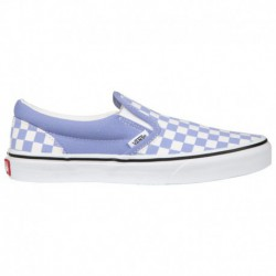 Vans Slip On Shoes Girls Vans Slip On - Girls' Grade School Lilac/White | 65-75044-1-04