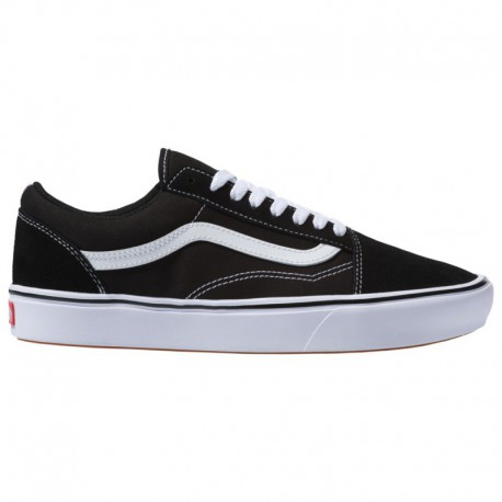 Vans Comfycush Old Skool Shoes Vans Comfycush Old Skool - Men's Black/White | 45-22367-5-04