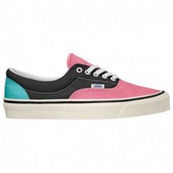 Vans Anaheim Era 95 Vans Era 95 DX - Girls' Grade School Pink/Black/Blue | 65-75357-7-04