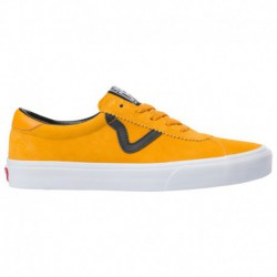 Vans Sport Black Yellow Vans Sport - Men's Yellow/Black/White | 45-20210-9-04
