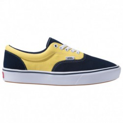 Vans Men's Era Comfycush Shoes Vans Comfycush Era - Men's Blue/Yellow | 45-20112-7-04