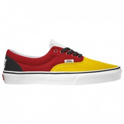 vans era otw rally sneaker vans era yellow black vans era men s yellow red black rally
