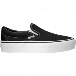 Platform White Slip On Vans Vans Slip-On Platform - Women's Black/White | 55-50002-4-02