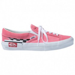 Vans On Sale Slip Ons Vans Slip On - Women's Pink/White | 55-52441-2-02