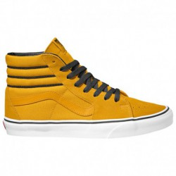 vans sk8 hi mte yellow yellow checkered vans sk8 hi vans sk8 hi men s yellow black white 45 20135 8 04