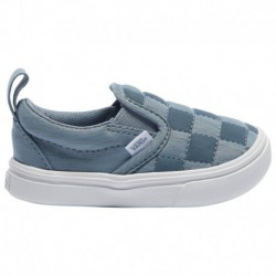 Vans Slip On Checkerboard Gray Vans Slip On Comfycush - Girls' Toddler Gray/Gray | Autism Awareness