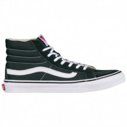 Van Sk8 Hi Slim Vans Sk8-Hi Slim - Women's Black/True White | Canvas