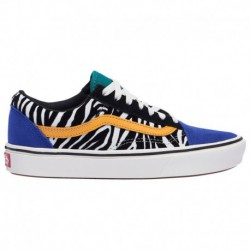 Vans Comfycush Old Skool Zebra Vans Comfycush Old Skool - Women's Tidepool/Surf The Web | Zebra