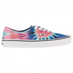 Vans Authentic Tie Dye Pink Vans Authentic - Women's Multi/True White/Pink | Tie Dye