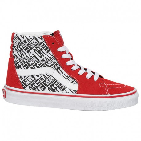 Vans Sk8 Hi Race Rpt Vans Sk8 Hi Race Rpt - Boys' Grade School Red/White/Black