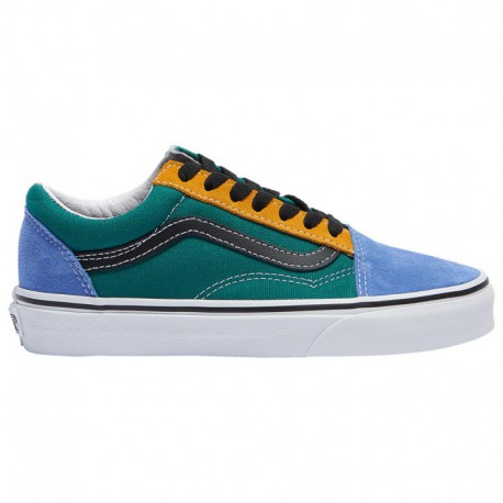Cheap Old Skool Vans Mens Vans Old Skool - Boys' Grade School Multi/Green | Mix And Match
